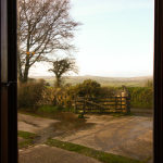 View from the end window